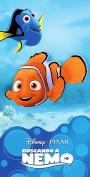 Disney Pixar Beach Towel Finding Nemo Bath Towel 100% Cotton
