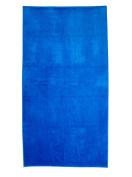 Royal Blue, Velour Pool/Beach Towel 100cm x 190cm , MADE IN BRAZIL