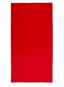 Red, Velour Pool/Beach Towel 100cm x 190cm , MADE IN BRAZIL