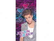 Justin Bieber Zebra Beach Towel 80cm x 150cm