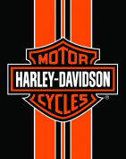 Harley Davidson Stripe Wonder Jumbo Beach Towel