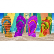 Flip-Flop Beach Towel