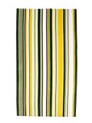 Watercolour Stripes Colour Green, Velour Beach Towel 100cm x 180cm , MADE IN BRAZIL