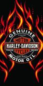 Harley Davidson Towel Fire Oil Wonder Beach Towel Hd 21