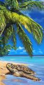Turtle Towel Ocean Endanger Species Wonder Beach Towels