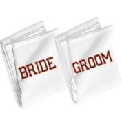 Bride and Groom Beach Towels
