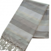 Scents and Feel Multicolor with Lurex Pareo Sarong Shawl