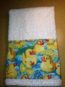 New HandMade Rubber Duck Guest Hand Towel