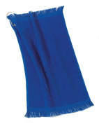 Port & Company Grommeted Fingertip Dry Towel, Royal, One Size