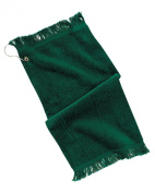 Port & Company Grommeted Fingertip Dry Towel, Hunter, One Size