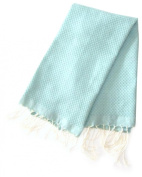 Scents and Feel Guest Fouta Towel Honey Comb Weave 100-Percent Cotton