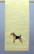 Hand Towel: Airedale Terrier