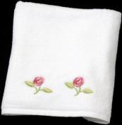 Hand Towel in a Rennie Mack Pink Rose Design