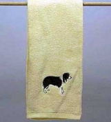 Hand Towel: Border Collie