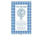 MacGregor Scottish Clan Tea Towel