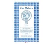 MacLaren Scottish Clan Tea Towel