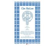MacLean Scottish Clan Tea Towel