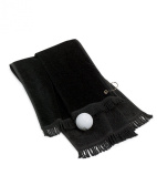 Port & Company Soft & Attractive Hand Towel, Black, One Size