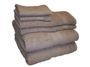 WOW 100-Percent Cotton Extra Dense 750 Gramme Per Square Metre 6-Piece Towel Set