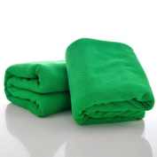 Housweety Dark Green 1 Pc New Nano Microfiber Drying Absorbent Bath Towels Washcloths