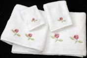 Bale of Towels in a Rennie Mack Pink Rose Design