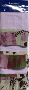 Laura 100% Cotton 3 Piece Towel Set