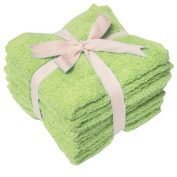Textiles Plus Inc 33cm by 33cm Heavy Weight Wash Cloth, Set of 6