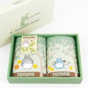 Totoro Face Towel Set