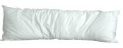 White Goose Feather/Down Body Pillow