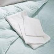 Medium 20 x 27 Soft Sleeper Poly / Cotton Blend Zippered Pillow Protector. Fits all Medium pillows up to 20 x 27, including Visco Elastic Memory Foam Pillows, Feather Pillows, Down Pillows, Polyfill Pillows
