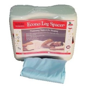 Core Products -Econo Leg Spacer Pillow and Blue Pilllow Case
