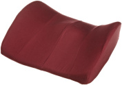 Hermell Products LC2235BG Memory Foam Trisectional Lumbar Cushion