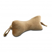 NeckBone Chiropractic Pillow by Original Bones, Brown