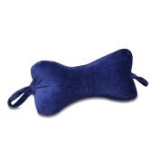 NeckBone Chiropractic Pillow by Original Bones, Blue