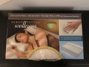 Sarah Peyton Wellness Ergonomic Memory Foam Pillow