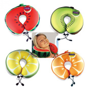 DCI Tutie Fruttie Travel Pillow, 11.5 by 27cm by 7.6cm