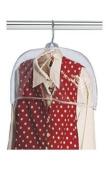 10 Pcs Unisex 50cm W X 20cm t Vinyl Plastic Shoulder Garment Bags Covers Storage Clothing Protectors