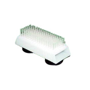 Helping Hand Body Foot Cleansing And Massaging Scrub Brush With Suction Cups