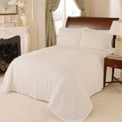 Beatrice Home Fashions Channel Chenille Bedspread