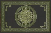 Cotton Celtic Circular Knot Print Tapestry