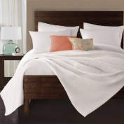 Lamont Limited Delaney Coverlet, Twin, White