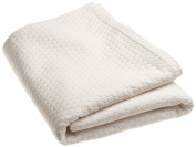 DKNY Pure Periwinkle Coverlets, Ivory