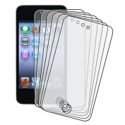 Importer520 6 Pack Anti-Glare Anti-Finger LCD Screen Protector Cover Guard Film, Apple iPod Touch 4th Generation Gen