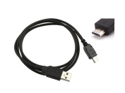 Micro USB 5Pin USB PC Cable Data/Charging Cord For Kobo eReader Wi-Fi 1GB Wireless, Vox Andoid Tablet