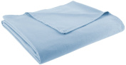 Chesapeake Merchandising 100-Percent Cotton Ribcord Bed Spread, Colonial Blue Full
