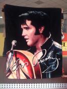 Elvis Presley Luxury Plush Blanket Queen Size