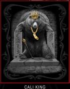 "Bear ""King of Cali"" DGA Queen Size Blanket 200cm x 240cm"
