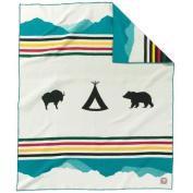 Pendleton 100th Anniversary Glacier Park Blanket