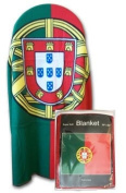Portugal - 130cm x 150cm Polar Fleece Blanket