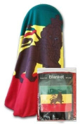 Ethiopia w/lion - 130cm x 150cm Polar Fleece Blanket
